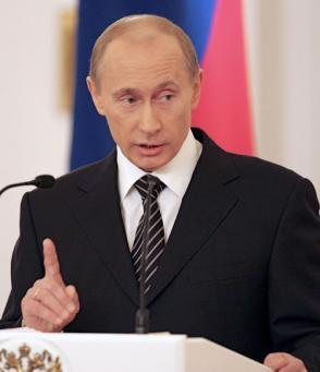 Le président russe, Vladimir Poutine, lors de la session du Conseil d'Etat